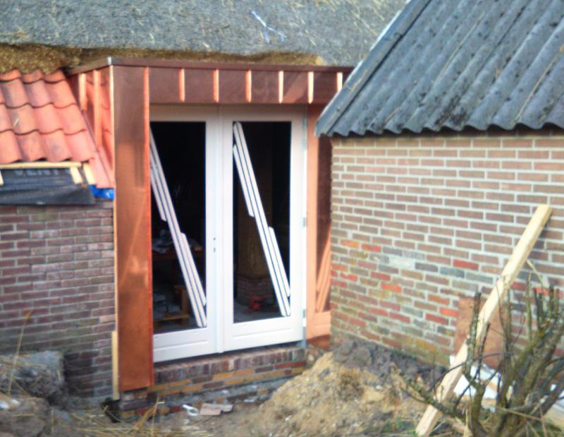Uitbouw openslaande deuren