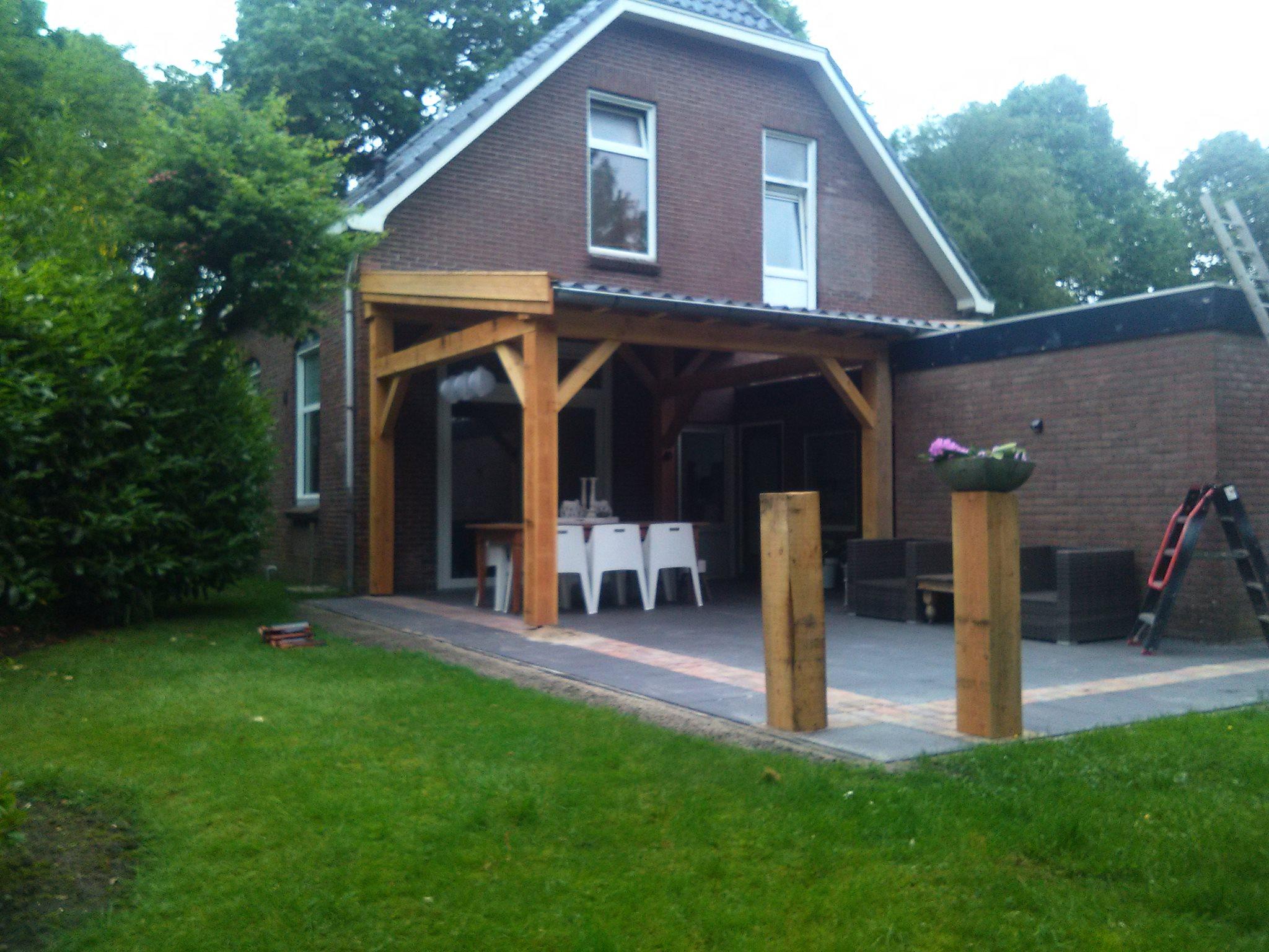 Hoge aanbouw overkapping bouwservice liebe - Veranda ou uitbreiding ...